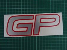Mini Cooper GP2 remplacement Air Scoop Decal/Autocollant JCW John Cooper Works GP 2
