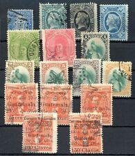 Guatemala Yvert # 3/31, 16 Stamps Lot, Not Consecutive, Vf