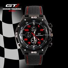 Montre Sport Racing Quartz Grand touring homme Rouge  PROMO