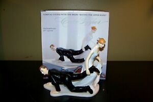 Wedding Cake Topper Bridal Shower Weddingstar Groom Bride Having the Upper Hand
