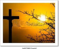 Crucifixion Art Print / Canvas Print. Poster, Wall Art, Home Decor - N