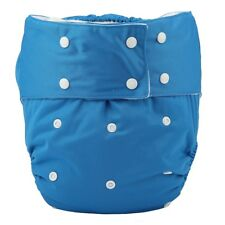 1 Adult Cloth Diaper Nappy Teen Reusable Washable Incontinence Blue For Men