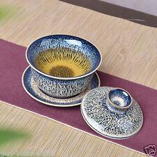 Kiln change porcelain gaiwan Chinese novelty tureen ceramic sauer lid Jingdezhen