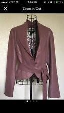 Karen Kane Mauve Leather Jacket Blazer