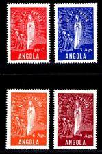 ANGOLA 1948 315-318 * SATZ (M0321