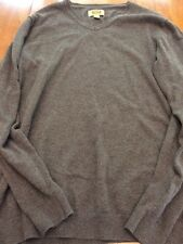 Foundry Long Sleeve Gray Thinner Sweater.  Mens Lt