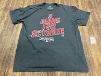 Boston Red Sox 2016 A.L. East Champs Men's Gray MLB T-Shirt - Majestic - Large