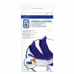 Catit Cat Drinking Feeding Station Carbon Filter Cartridges Replacement (3pk)