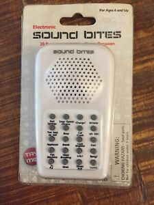 Westminster-Electronic Sound Bites-Practical Effects-20 Sounds New in package.