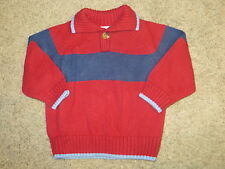 EUC Gymboree Varsity Football Sweater Size 6-12 6 12 Months