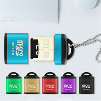 US Memory Card Reader To USB 2.0 - Adapter for Micro SD SDXC SDHC TF Memory Card