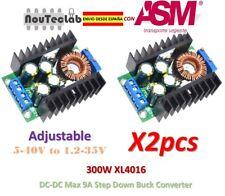 2pcs 300W XL4016 DC-DC Adjustable Max 9A Step Down 5-40V to 1.2-35V Power Supply