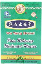 Wu Yang Brand Pain Relieving Medicated Plaster - 10 Plaster In one Box