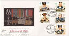 "1986 Royal Air Force-PPS ""soie"" - Bataille de la Grande-Bretagne, BF2123PS H/S"