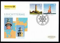 BRD 2006 Deutsche Post FDC MiNr. 2555-2556  Leuchttürme