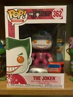 Funko Pop The Joker #362 Pink NYCC FCE 2020 LE EXCLUSIVE RARE MINT DC W/PP BCRF