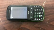 Pantech Pursuit II 2 P6010 - at&t / gsm unlocked fair used Green / Black