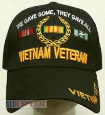 VIET NAM VIETNAM CAMPAIGN VETERAN VET WE SOME THEY GAVE ALL OAK LEAVES CAP HAT