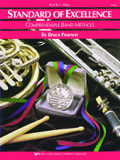 Standard of Excellence: Flute Book 1 - Band Method Book W21FL