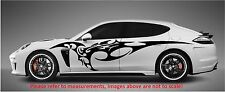 "FURIOUS TRIBAL BLADE (SET OF 2) SPEED SIDE CAR DECAL STICKER VINYL  (70"" x 14"")"