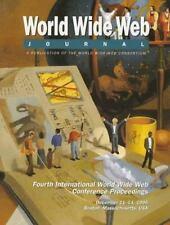 Fourth International WWW Conference Proceedings: World Wide Web Journal: Volume