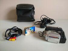 JVC MiniDV Camcorder GR-DF420EK with Case, Charger & AV Lead. 700x Digital Zoom