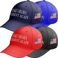 Make OBAMA President Again America Great Baseball Cap Donald Trump Hat USA C8