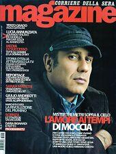 Magazine Corsera.Federico Moccia,Lucia Annunziata, Concetto Vecchio & Co,iii