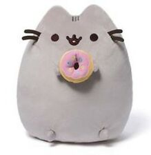 "READ ~ NOT GUND but LIKE the plush  "" Pusheen The Cat With Donut""  7"" x 6"" Toy"