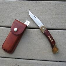 "Vintage Schrade knife Uncle Henry made in USA ""ElK"" on handle  LB7 (Lot#12129)"
