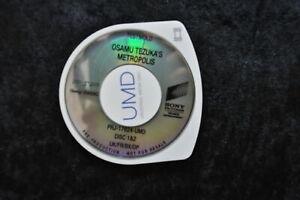 Osamu Tezuka's Metropolis UMD TESTMOLD Sony PSP