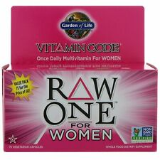 Garden of Life,  Raw One, Once Daily Multi-Vitamin for Women, 75 Veg caps