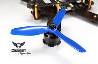 5x4.5x3 SCHUBKRAFT Racing Props Naze32 FPV Propeller 5045 F3 Kiss G18 BLAU
