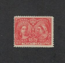 Canada Scott 59 - Queen Victoria Jubilee. 20 Cent. MH. OG   #02 CAN59