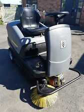 More details for karcher km 100/100r - ride on sweeper