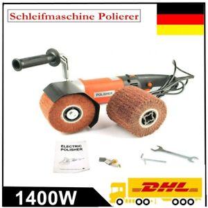 1400W 220V Satiniermaschine Polierer Schleifmaschine Bürstenschleifer Polieren