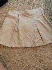 Khaki Skirt Beige Kids Size 16