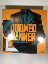 DOOMED DINNER mysterious Party Game Ages 12+ 4-8 Players NEW Open Box