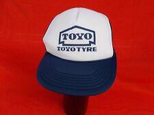 NOS 1980's vintage toyo tires  racing team cap hat European market navy blue
