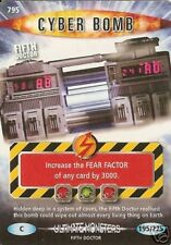 DR WHO ULTIMATE MONSTERS  CARD 795 CYBER BOMB