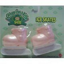 Cabbage patch kids doll chaussures-rose patins à glace-cpk neuf
