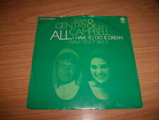 "Bobbie Gentry & Glen Campbell -All I Have To Do Is Dream/Walk Right Back- 7"" rar"