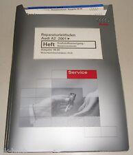 Werkstatthandbuch Audi A2 Krafstoffversorgung Benzinmotoren AUA ab 2001