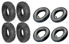 (4) 4.10 x 3.50 - 5 Tires & (4) Tubes Go-Kart Cart GoKart GoCart Mini-Bike