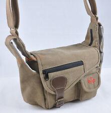 khaki canvas Camera bag case for Canon EOS 5D 6D 60D 600D 650D 700D 100D 7000D