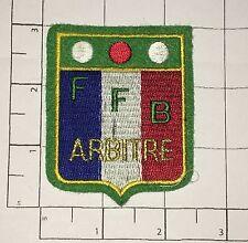 FFB Arbitre Patch