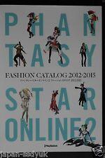 JAPAN Phantasy Star Online 2 Fashion Catalog 2012-2015