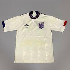 ENGLAND 1988 HOME FOOTBALL SOCCER JERSEY SHIRT UMBRO BOYS SIZE 30/32