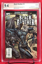 BLACK PANTHER #1 PGX 9.4 NM Campbell Shuri Variant signed STAN LEE + CGC!!!