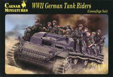 Caesar Miniatures 1/72 099 WWII German Tank Riders (Camouflage Suit)(32 Figures)